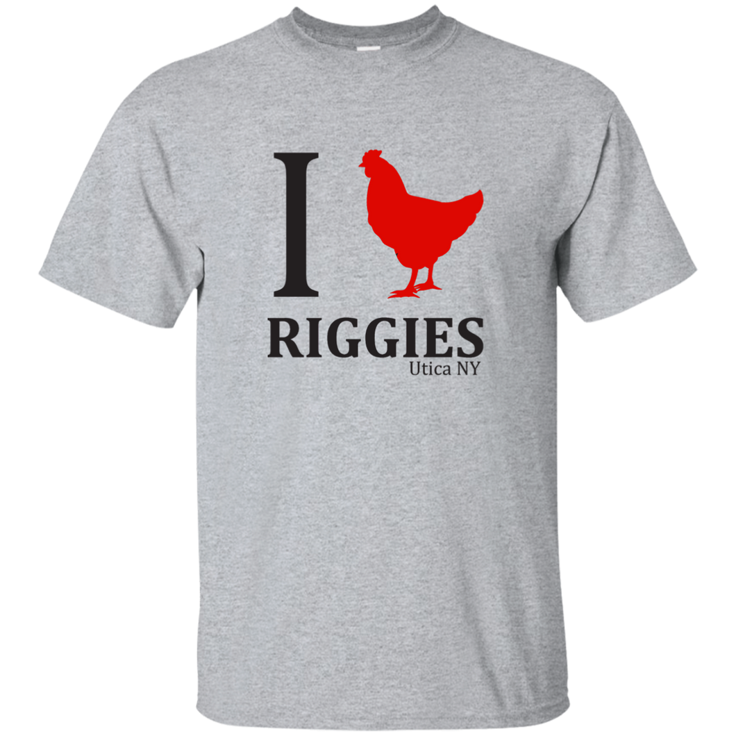 I love Riggies Cotton T-Shirt
