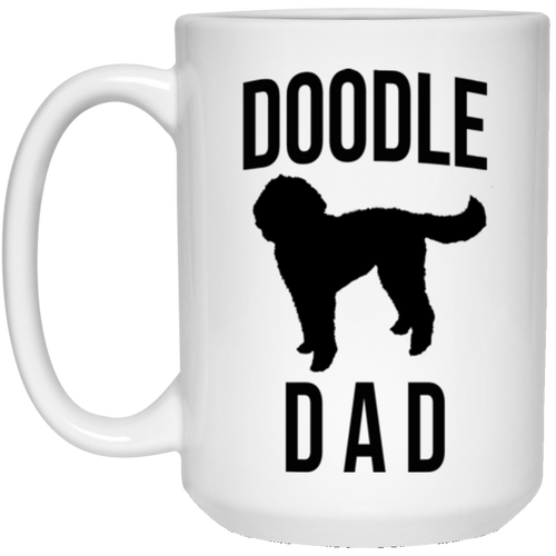 Goldendoodle Dad or Labradoodle Dad Mug