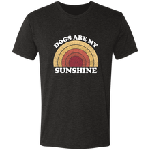 Dogs are my Sunshine Triblend T-Shirt
