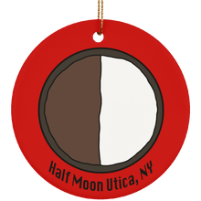 Utica Half Moon Circle Ornament