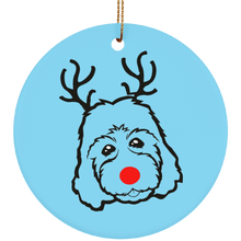 Goldendoodle Christmas Ornament or Labradoodle Christmas Ornament