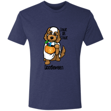 Doodle Ghost Triblend T-Shirt