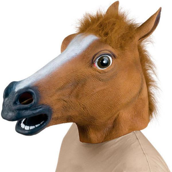 Latex Horse Head