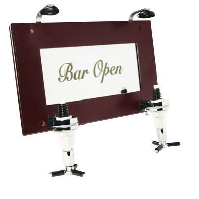Wall Mounted Double Liquor Dispensor, The Bar & Wine