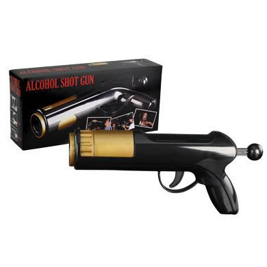 Black Alcohol Shot Gun