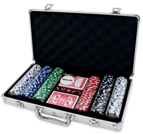 300 Piece Poker Set with Case