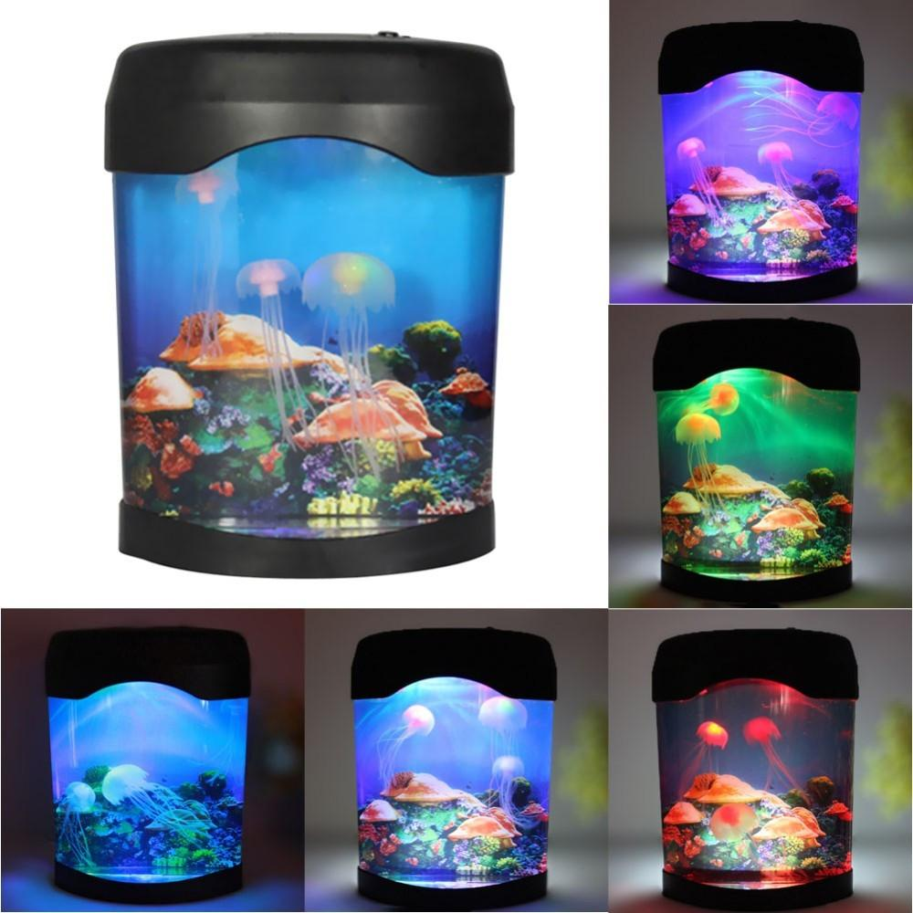 LED Jellyfish Lamp/Tank