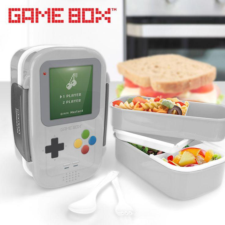 Gameboy Kids Lunch Box
