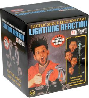 Electric Lightning Reaction Game