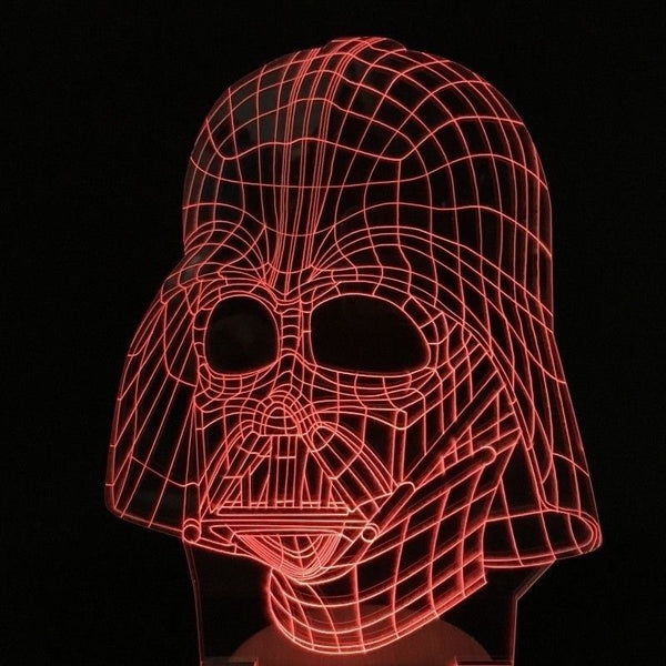 DARTH VADER Star Wars - 3D Illusion Led Lamp