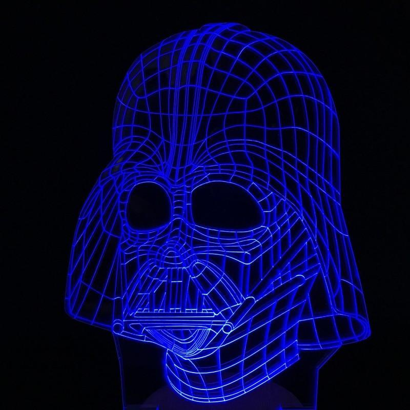 Star Wars, Darth Vadar, Led Lamp, Kids Gift, Christmas Gift idea