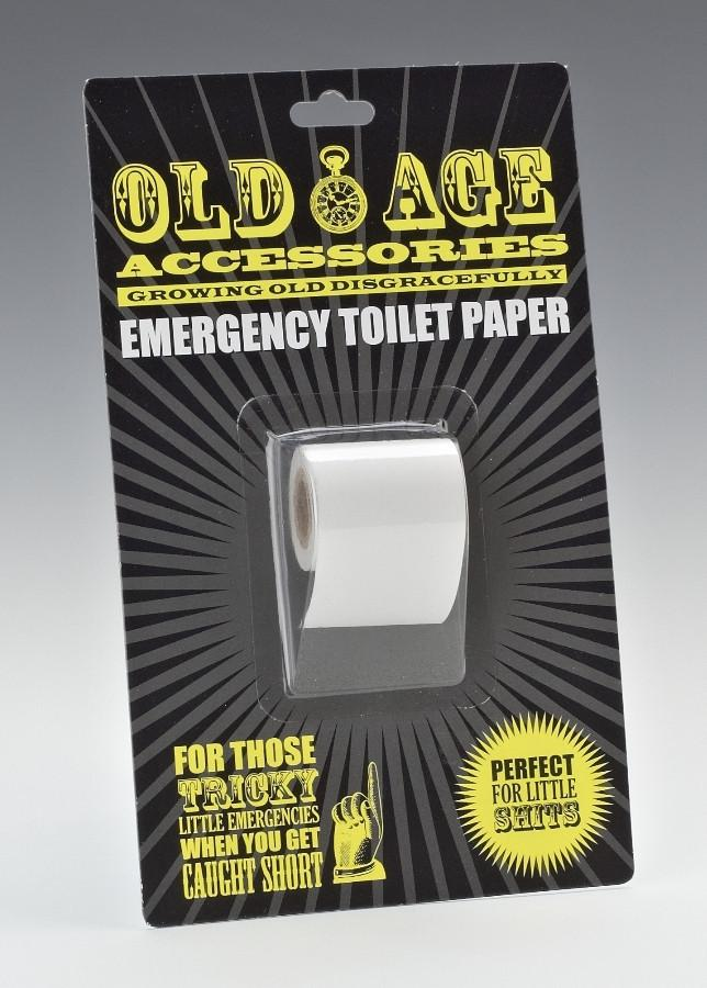 Old Age Accessories - Emergency Toilet Paper