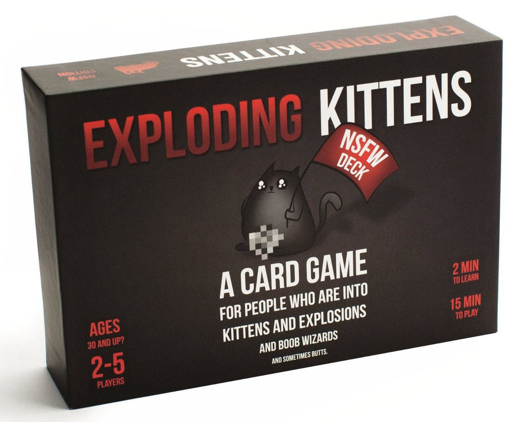 Exploding Kittens - Card Game (NSFW EDITION)