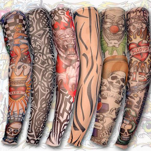 Fake Tattoo Sleeve (Pack of 6)