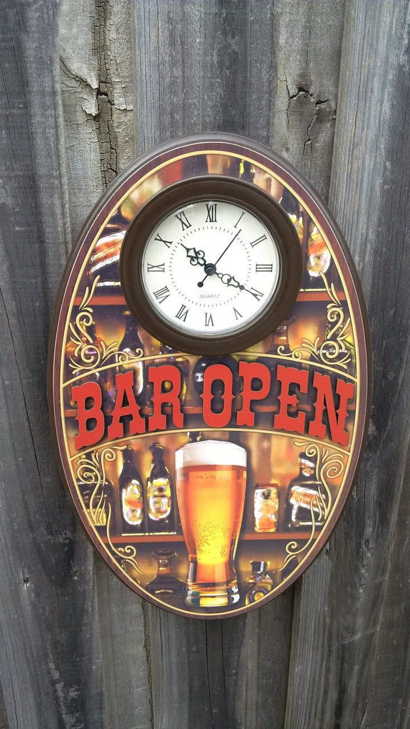 Bar Open - 3D Clock