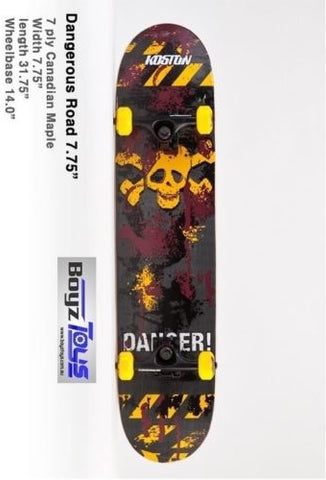 KOSTON 'DANGEROUS ROAD' Skateboard