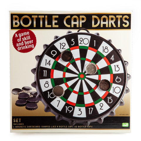 Magnetic Bottle Cap Darts Game