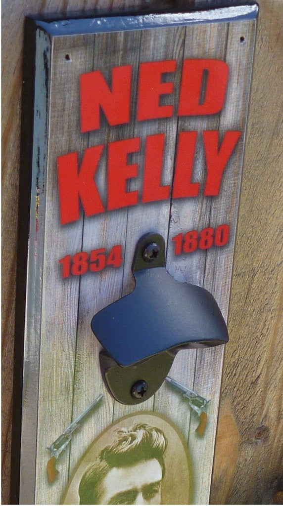 NED KELLY Bottle Opener (Wall Mounted)