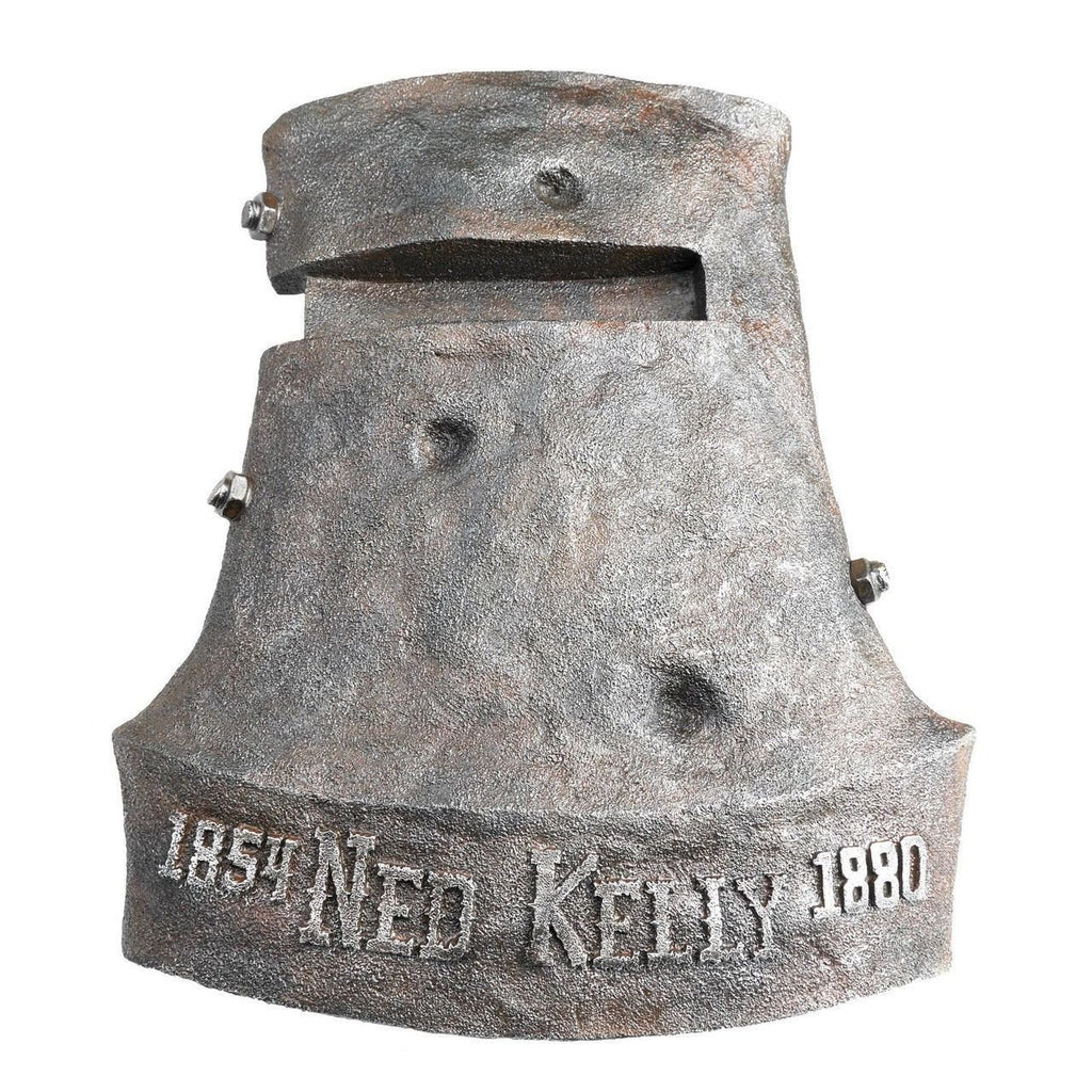 NED KELLY - 3D Helmet Wall Sign