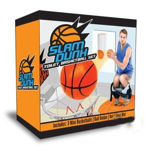 Novelty Toilet Basketball