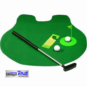 Putt Putt & Flush (Toilet Golf)