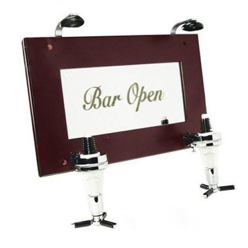 Double Liquor Dispenser (Two Bottle, Wall Mounted)