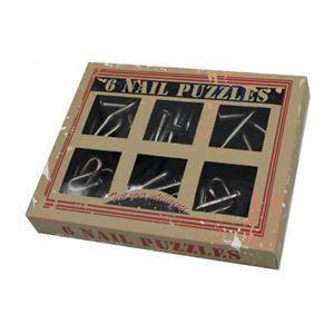 Nail Puzzles - 6 Models Included