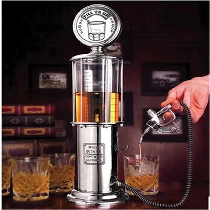 Mini Beer Dispenser Machine Liquor Beer Gun Pump Gas Station