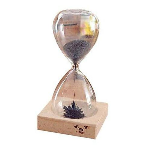 Magnetic Hourglass (Wood Base)