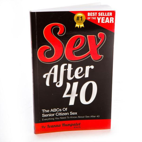Sex After 40 Notebook