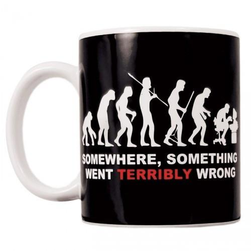 Something Went Terribly Wrong Mug, Evolution,