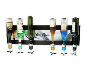 Wall Mounted Liquor Dispenser (6 Bottle)