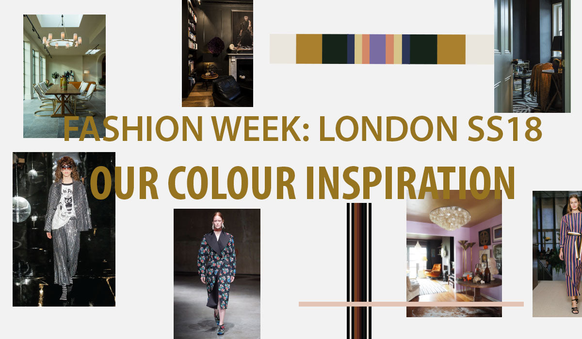 Our Colour Inspiration from London Fashion Week SS18