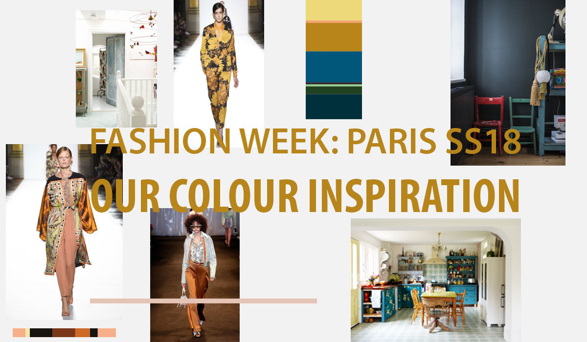 Our Colour Inspiration from Paris Fashion Week SS18