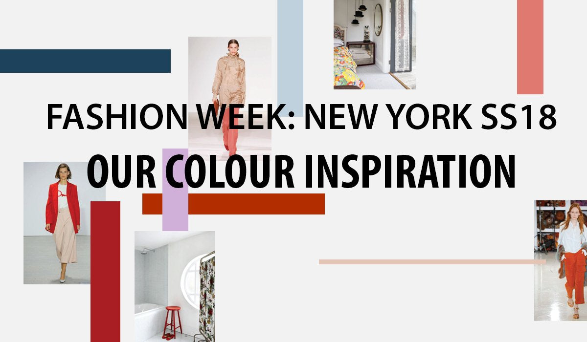 Our Colour Inspiration from New York Fashion Week SS18