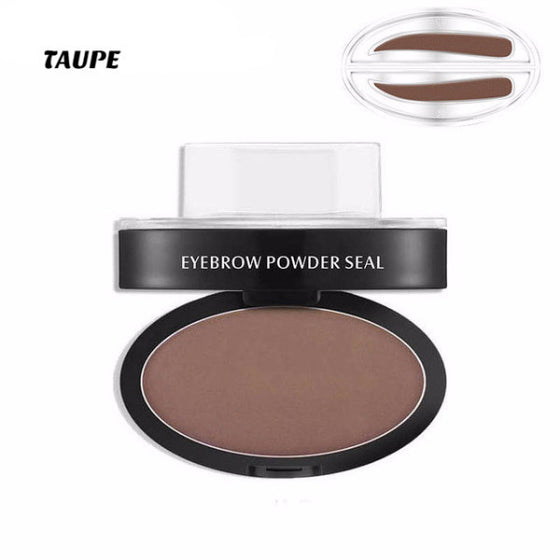 Eyebrow Make-Up Cream Powder Stamp™ Make-Up [6 Shades]