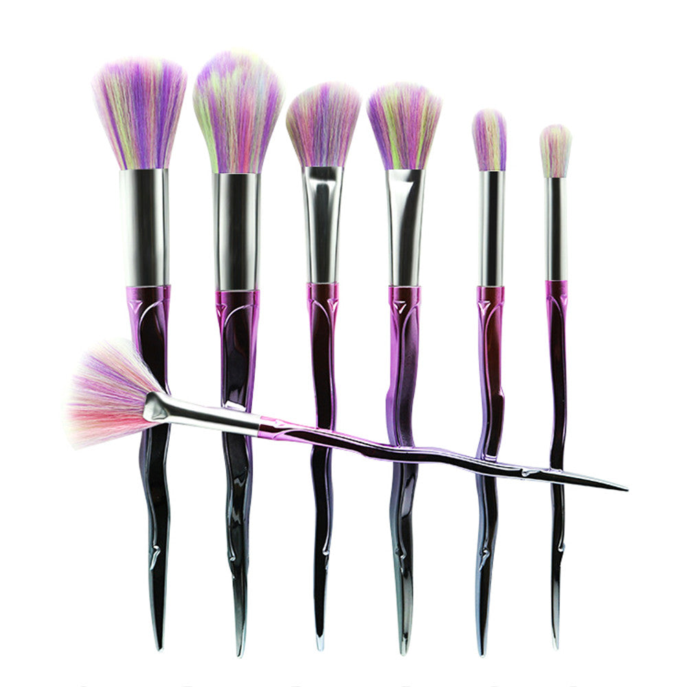 Pastel Unicorn Set Makeup Brushes