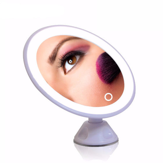 Luminous Rechargeable Magnifiable Vanity Makeup Mirror
