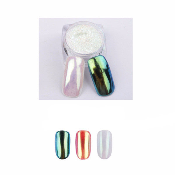 Glitzy Posh Mirror Nails Powder Polish [11 Colors]