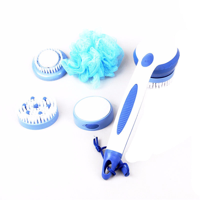 Super Spa Automatic Shower Scrub Set