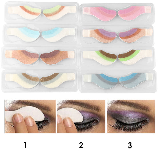 Elegant Peel Off Eye Shadows