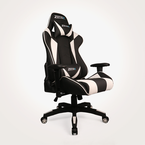 Saturn Racing Chair (White)