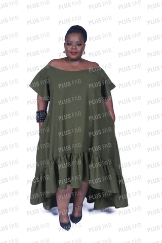 Watamu dress with doek