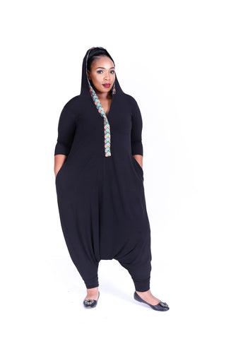 Black OT Jumpsuit