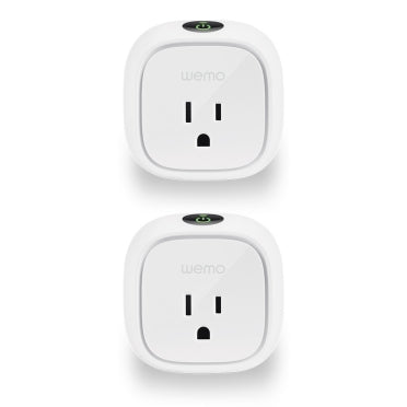 Wemo® Insight Smart Plug 2-Pack.