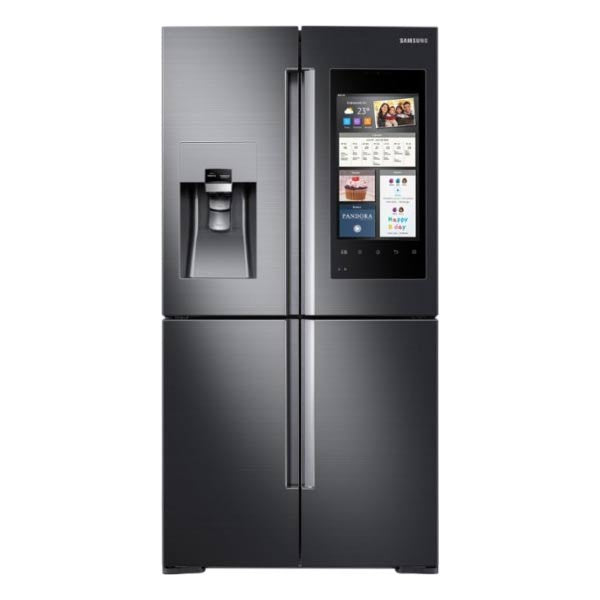 Samsung Fridge Black Stainless Steel Counter Depth