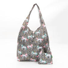 Silver Unicorn Foldaway Shopper - Beau's Boutique