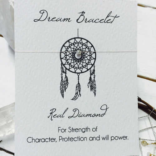 Dream Catcher Bracelet - Real Diamond