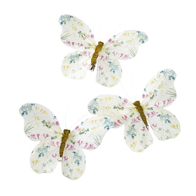 Vintage Fairy Butterfly Clips - Beau's Boutique