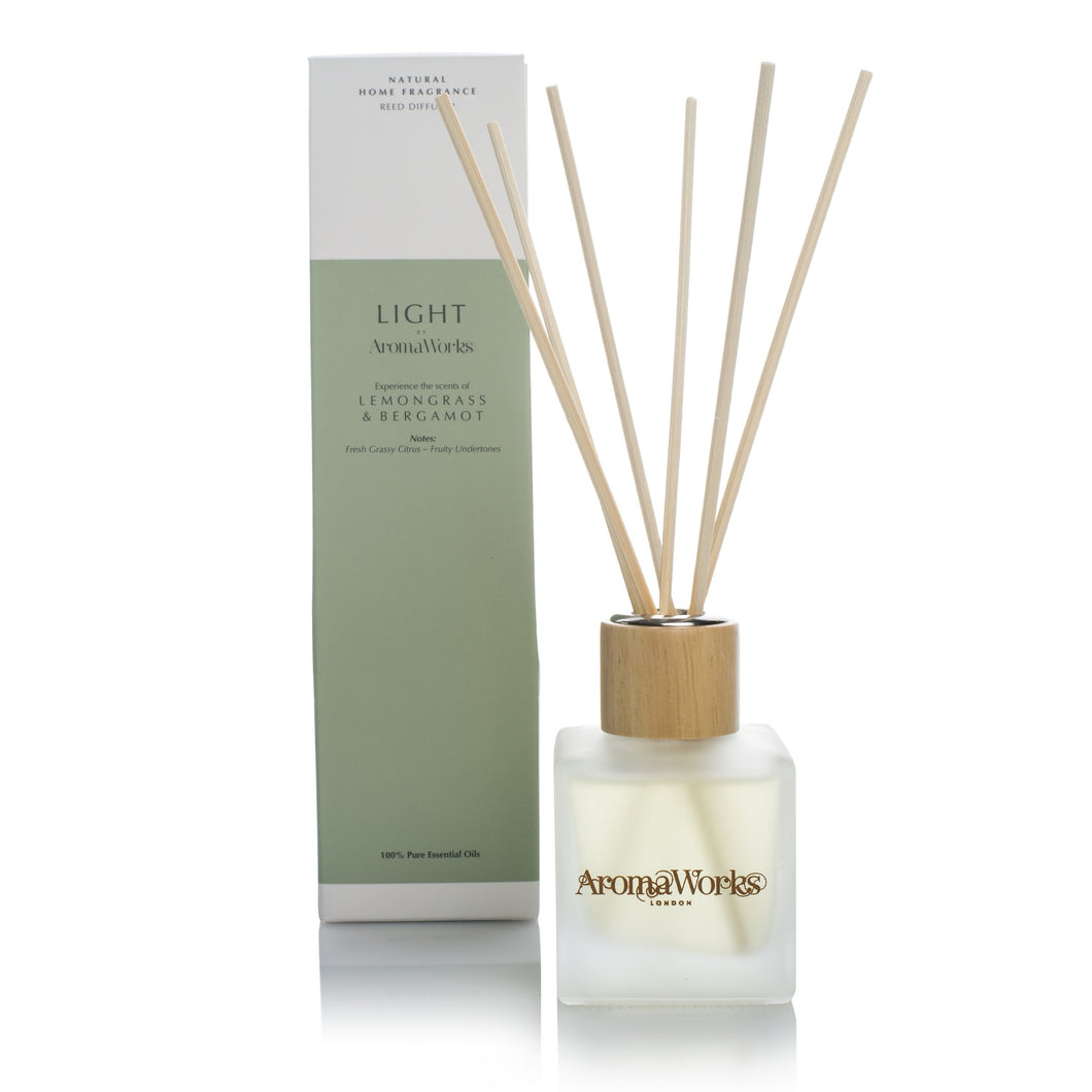 Lemongrass and Bergamot Reed Diffuser - Beau's Boutique